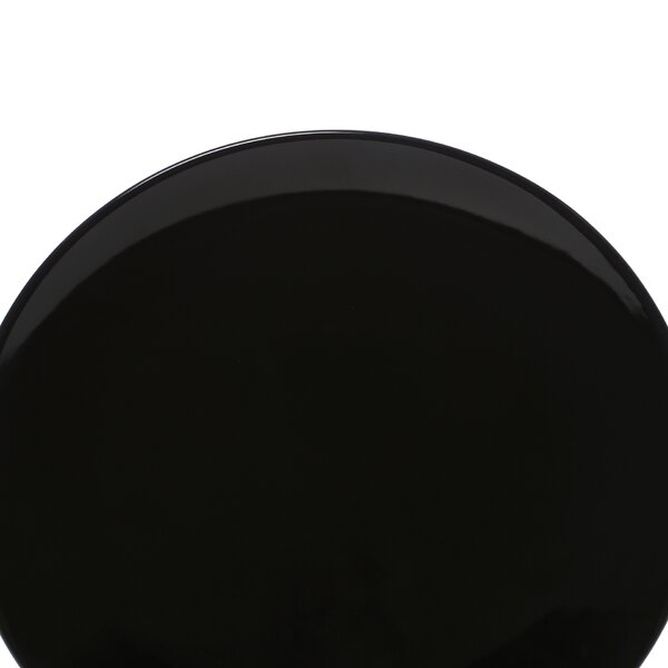Black Coupe 10.25 Dinner Plate (Set of 6) by Ten Strawberry Street