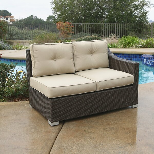 Suai Patio Sectional with Cushions by Brayden Studio