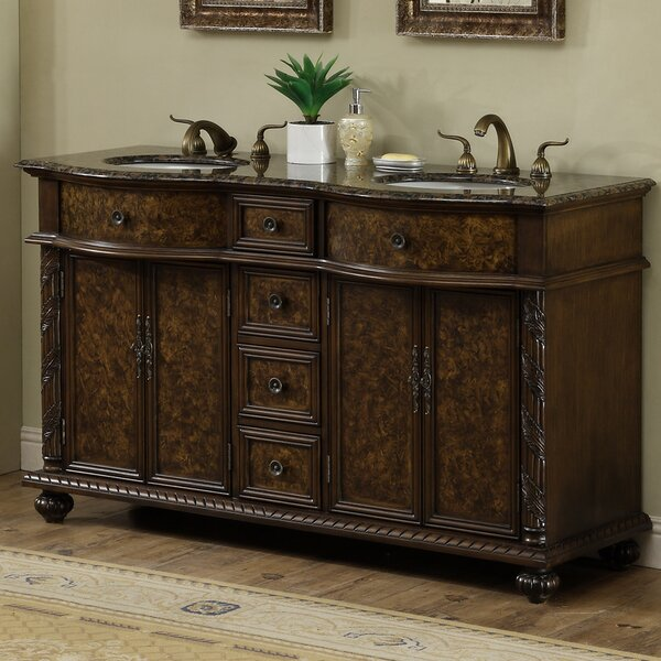 60 Double Bathroom Vanity Set by dCOR design