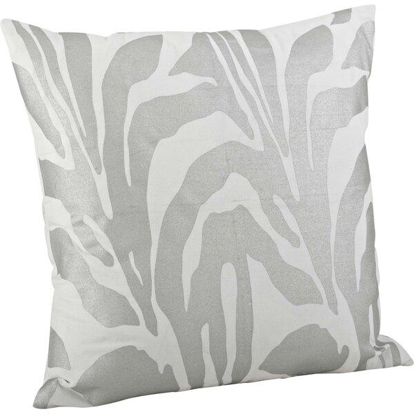 Malawi Animal Print Cotton Throw Pillow by Saro