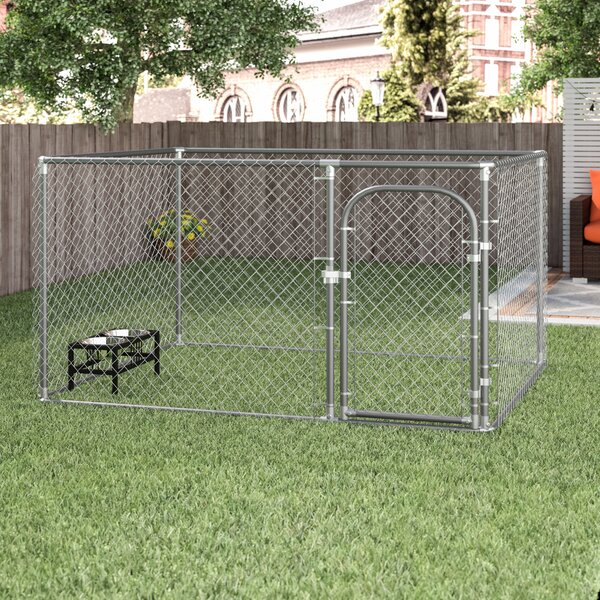 Merlin DIY Chain Link Yard Kennel by Tucker Murphy Pet