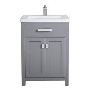 Quickview Knighten 24 Single Bathroom Vanity