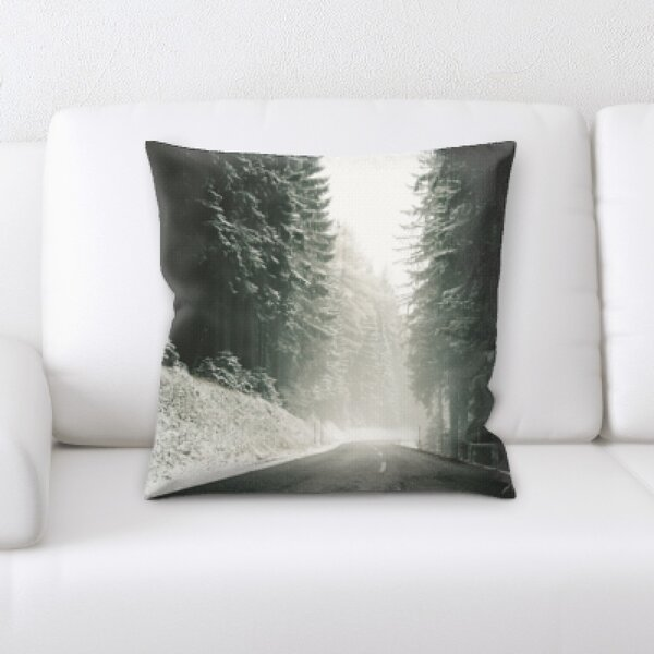Winter Feeling (60) Throw Pillow by Rug Tycoon