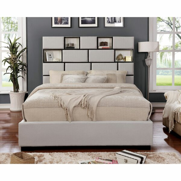 Huerta Upholstered Platform Bed by Brayden Studio