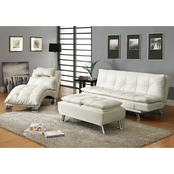 Baize Sleeper Configurable Living Room Set by Latitude Run