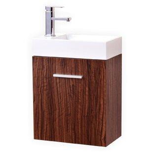 Modern Solid Wood Bathroom Vanities - Wooden bathroom sink cabinets