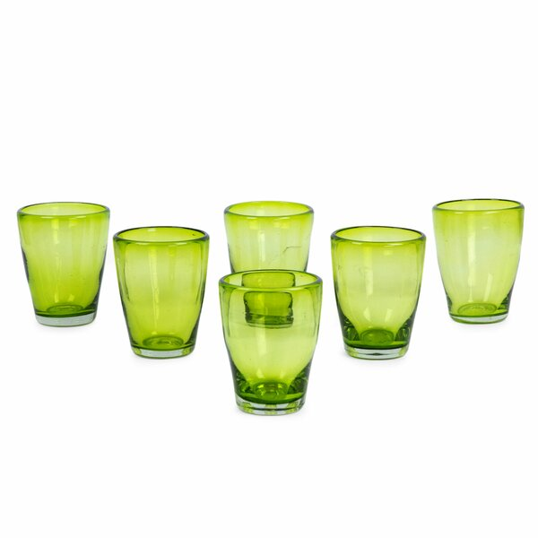 Hanrahan Delicious 10 oz. Every Day Glasses (Set of 6) by Ebern Designs