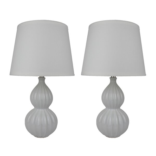 Tinsley 21 Table Lamp (Set of 2) by Breakwater Bay