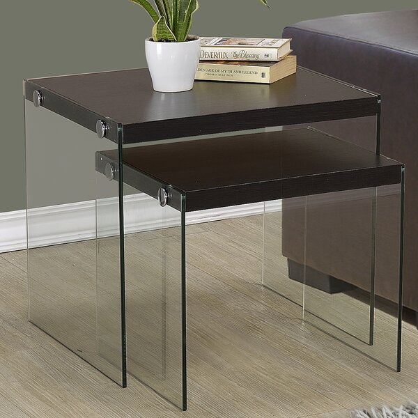 1 Piece Nesting Tables by Monarch Specialties Inc.