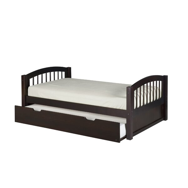 Rabon Twin Platform Bed with Trundle by Harriet Bee