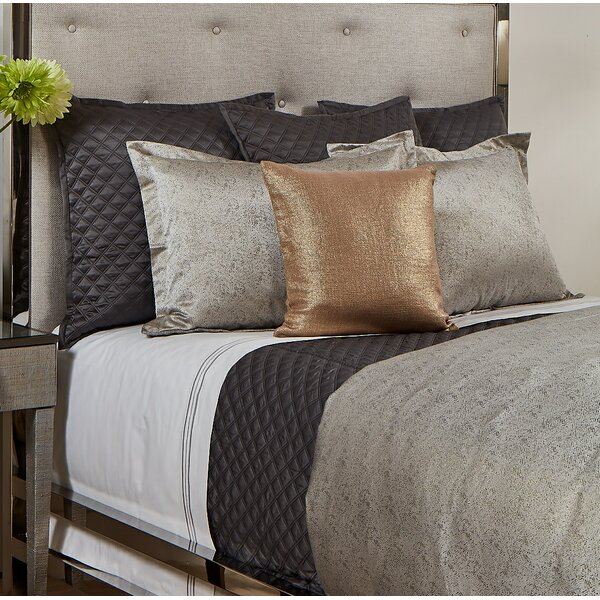 Imprint and Double Diamond Coverlet Set