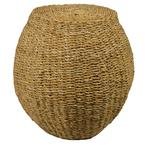 Hoisington Round Rattan Accent Stool by Bloomsbury Market