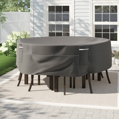 Freeport Park Kendala Round Water Resistant Patio Table Cover Reviews Wayfair Ca