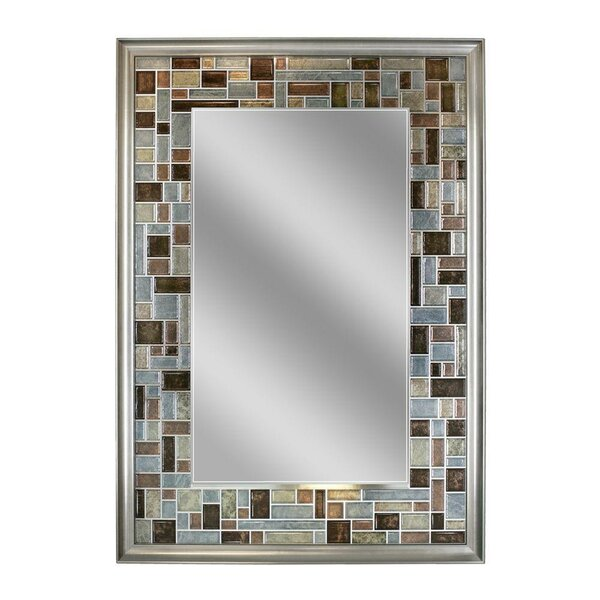 Serenity Tile Accent Wall Mirror by Zipcode Design