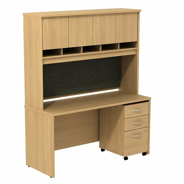 Series C Desk with Hutch by Bush Business Furniture