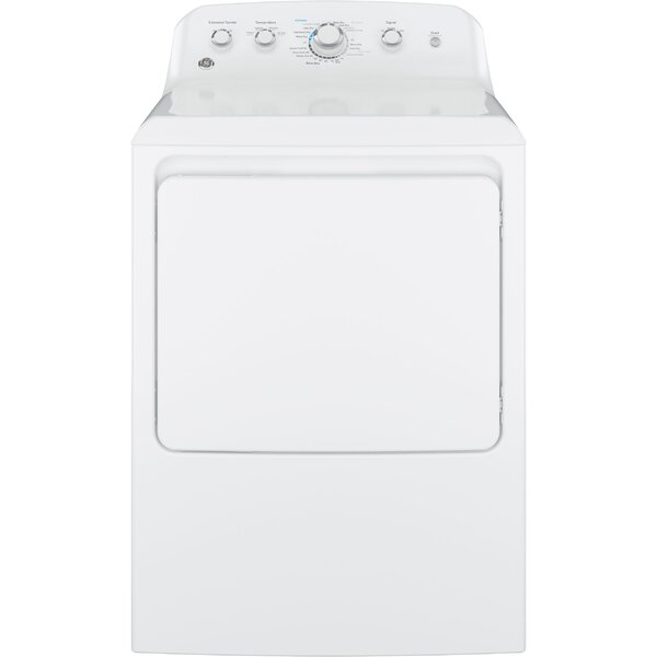 6.2 cu. ft. Electric Dryer with Aluminized Alloy Drum by GE Appliances