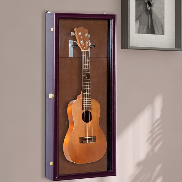 Guitar Security Shadow Box by HomCom