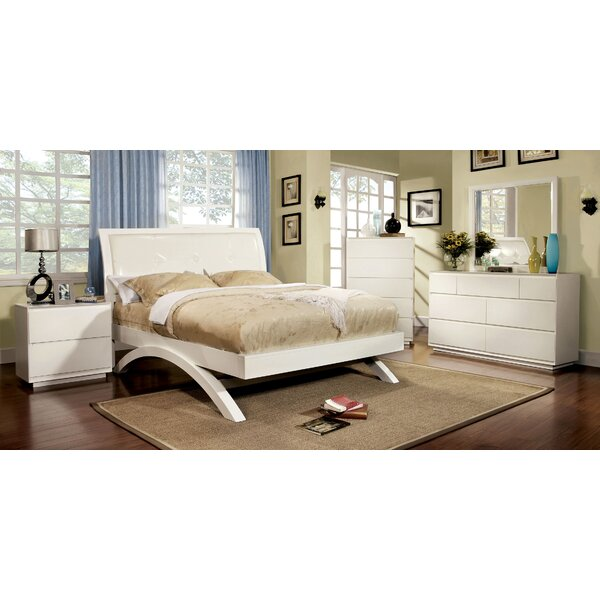 Jaynie Upholstered Platform Bed by Hokku Designs