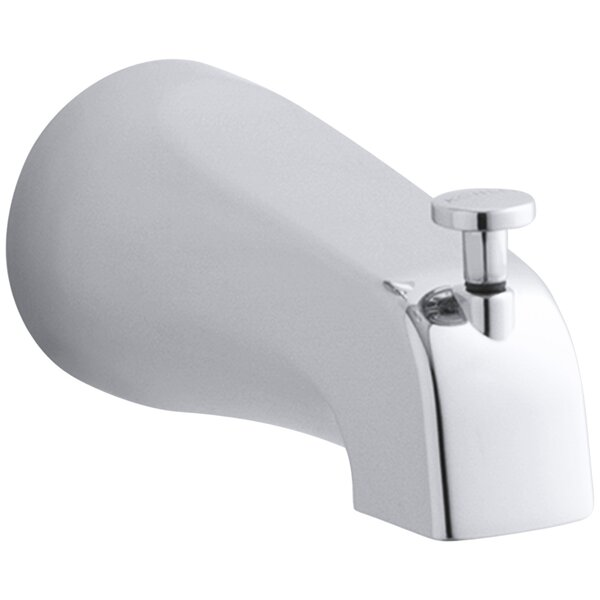 Coralais 4-7/8 Diverter Bath Spout with Slip-Fit Connection by Kohler