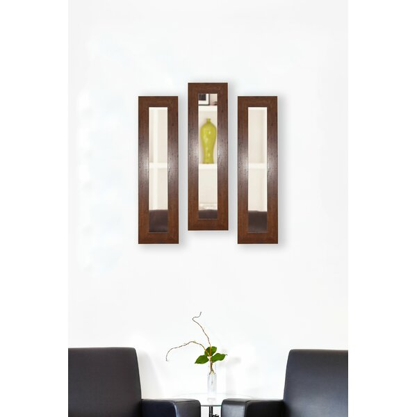 3 Piece Trujillo Panels Mirror Set (Set of 3) by Millwood Pines
