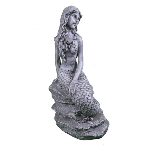 Chittening Posing Mermaid Statue by Rosecliff Heights