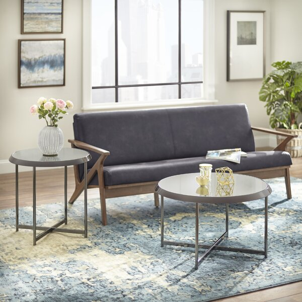 Carly 2 Piece Coffee Table Set by Williston Forge Williston Forge