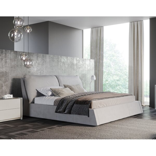 Okelley Upholstered Platform Bed by Orren Ellis