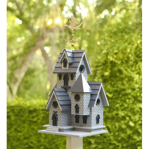Dragon Weathervane Birdhouse by Wind & Weather