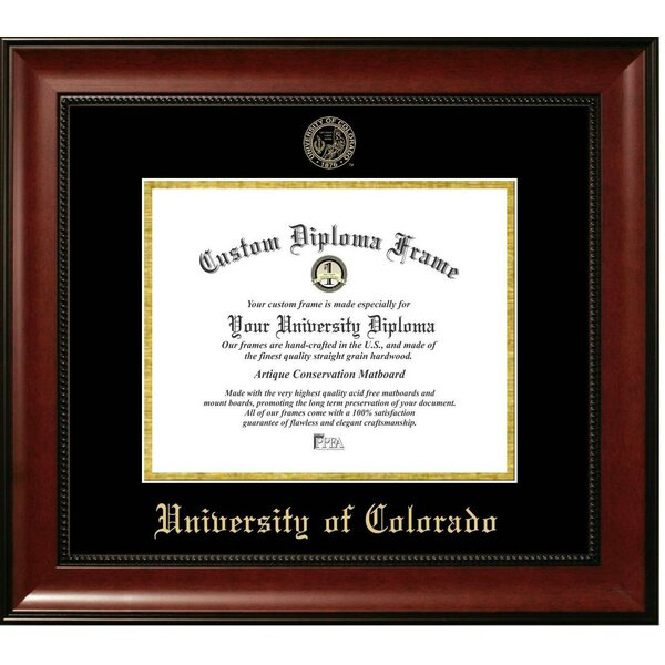 The Contemporary University of Colorado Picture Frame by Diploma Frame Deals
