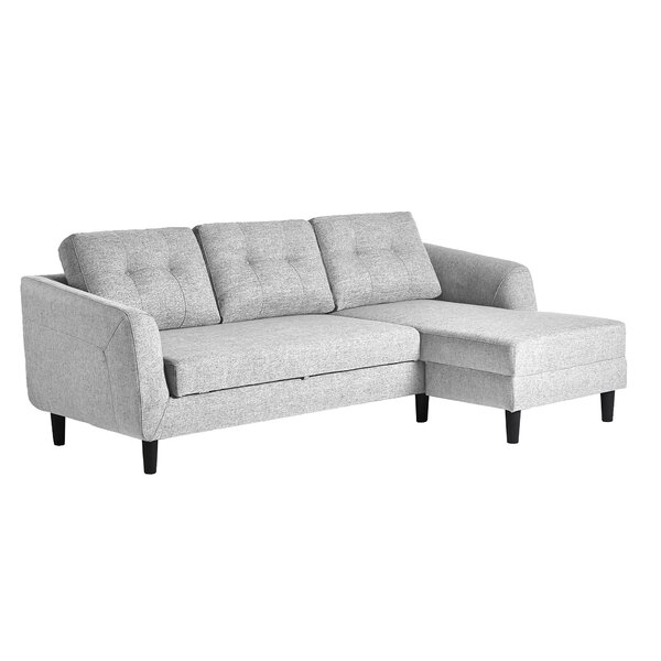 Easterly Sleeper Sectional by Wrought Studio Wrought Studio