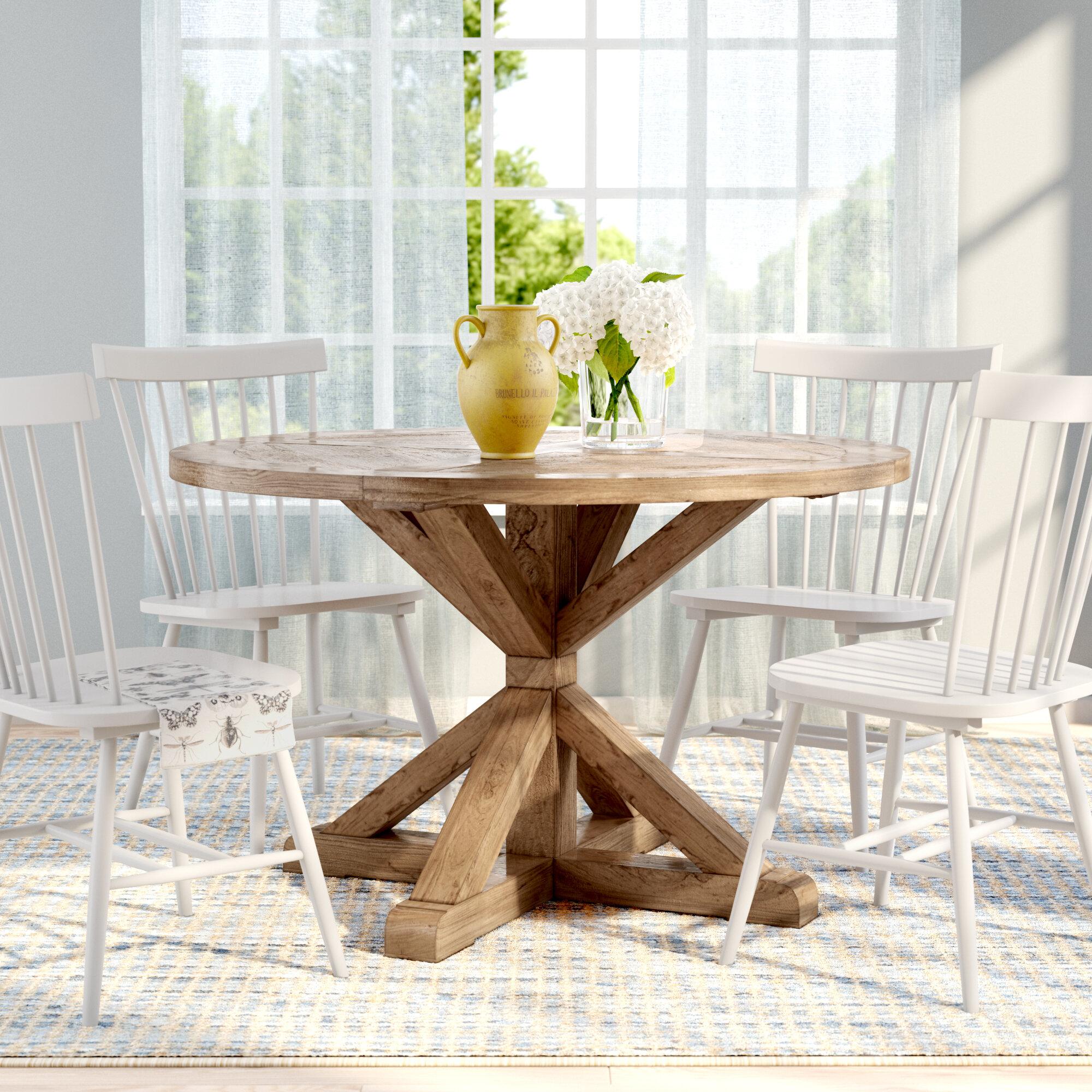 Greyleigh Abasi Pedestal Dining Table Reviews Wayfair