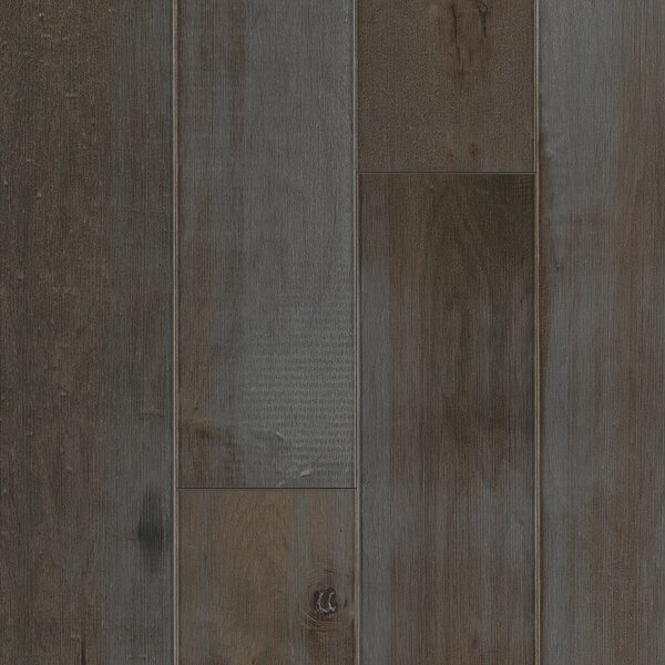 Artisan 6-3/4 Engineered Maple Hardwood Flooring in Dark Gray by Armstrong Flooring