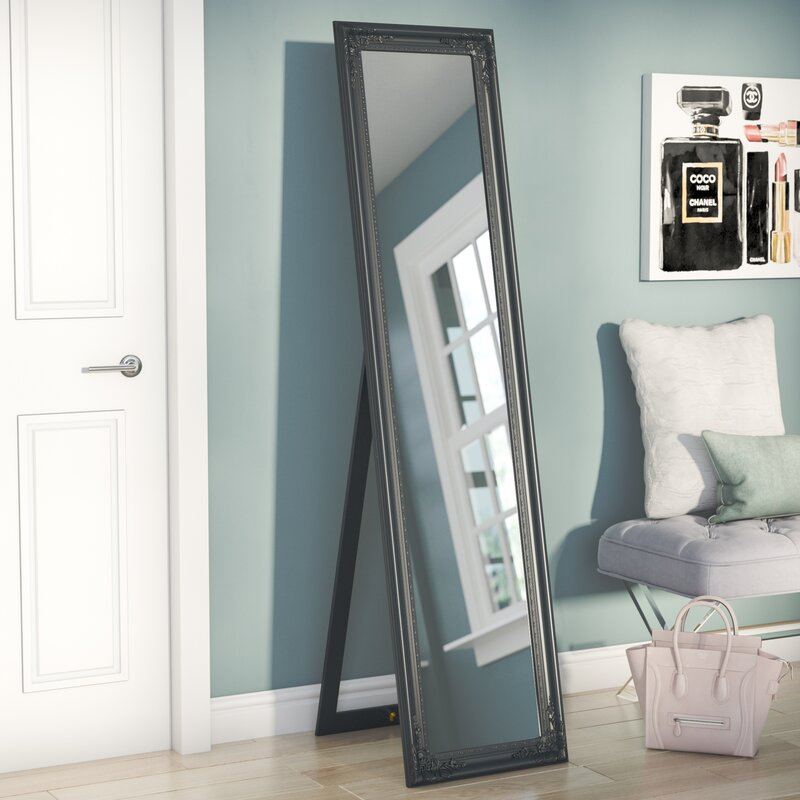 Willa Arlo Interiors Wooden Standing Wall Mirror Reviews