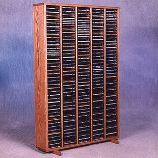 400 CD Multimedia Storage Rack by Rebrilliant