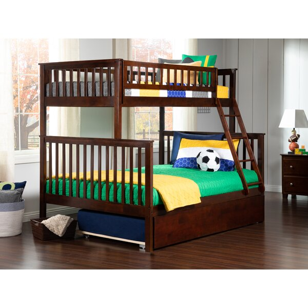 Shyann Twin Over Full Bunk Bed with Trundle by Viv + Rae