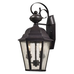 Price Check Drennen 2-Light Outdoor Wall Lantern By Darby Home Co
