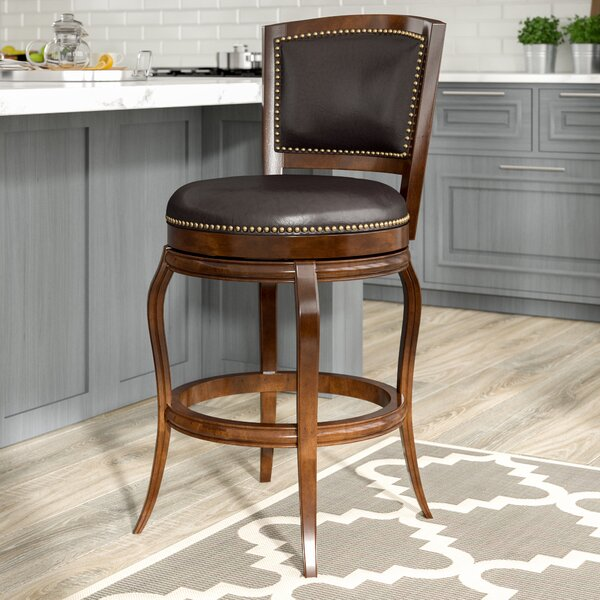 Rockton 29 Swivel Bar Stool by Darby Home Co