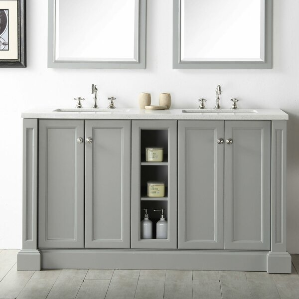 Taunya 60 Double Vanity Set by Beachcrest Home