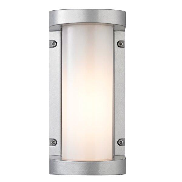 Savannah 1-Light Outdoor Flush mount by Orren Ellis