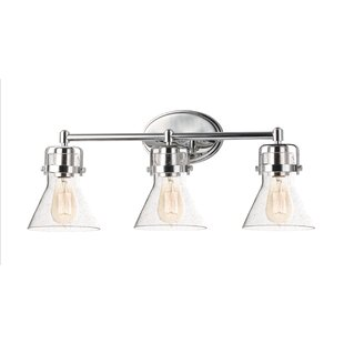 Inexpensive Nicastro 3-Light Vanity Light By Williston Forge