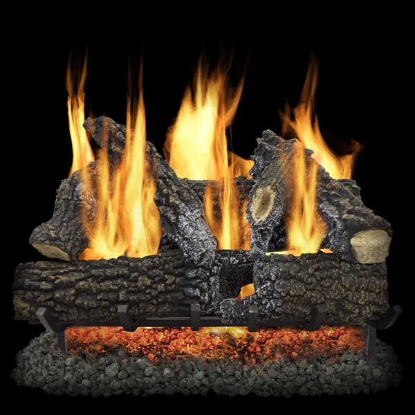 Arlington Ash Vented Gas Log Set by Pleasant Hearth