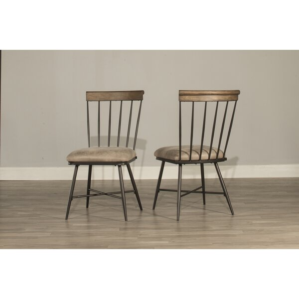 Bonella Upholstered Dining Chair (Set of 2) by August Grove