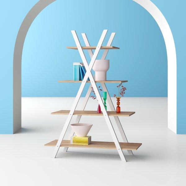 Thielen 4 Tier Ladder Display Ladder Bookcase By Hashtag Home