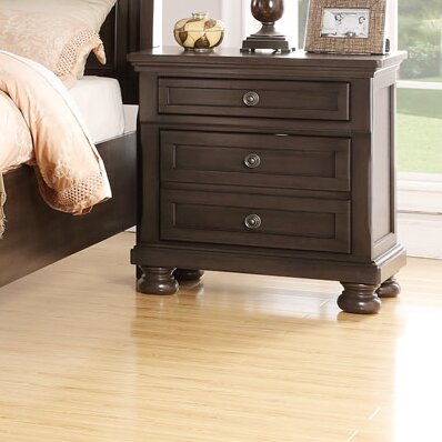 Elkland 3 Drawer Nightstand by Darby Home Co