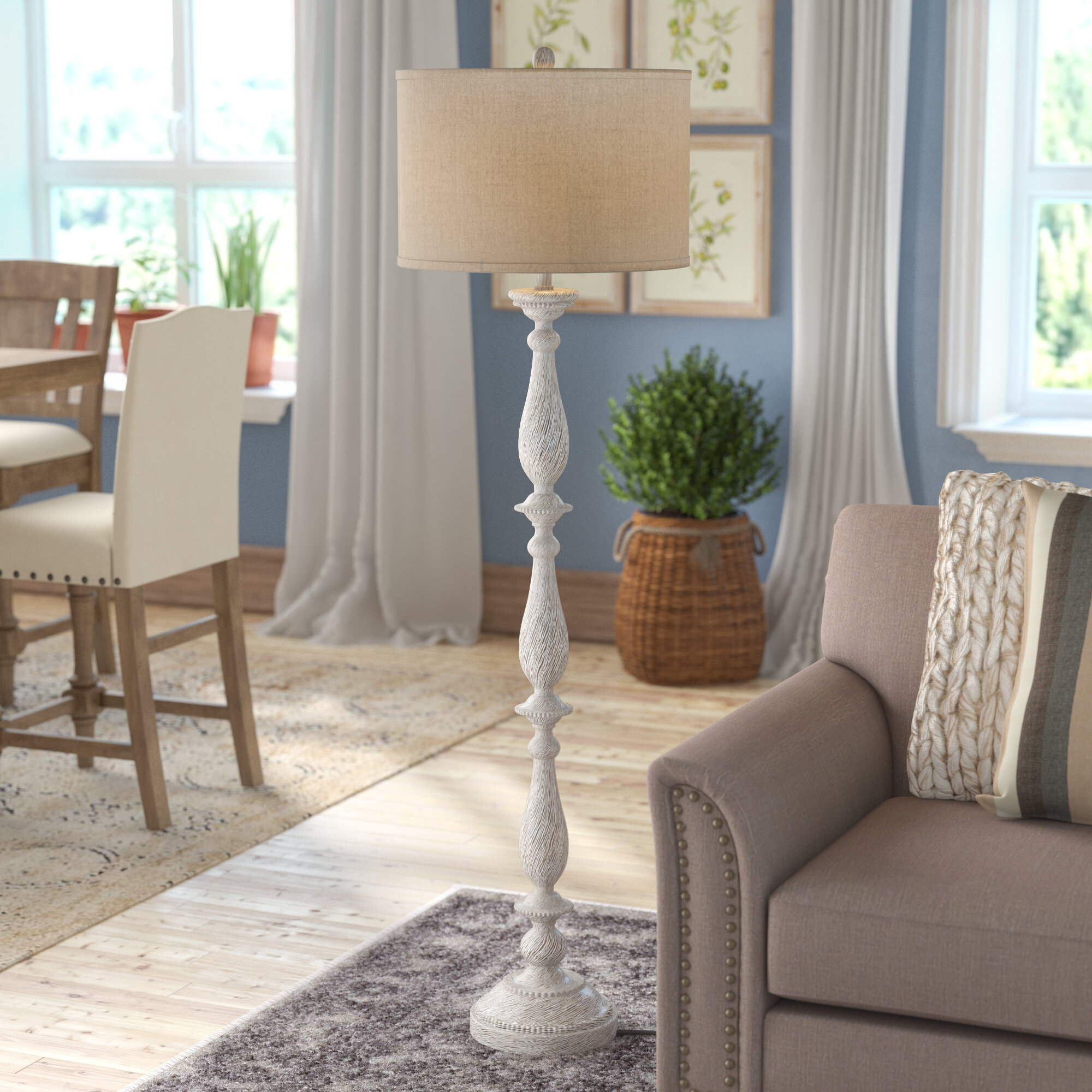 Ophelia Co Whipkey 62 Traditional Floor Lamp Reviews Wayfair