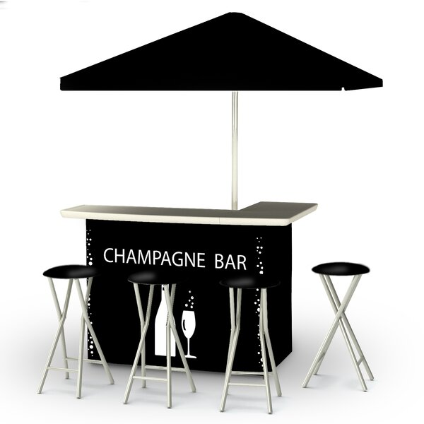 Champagne 8 Piece Bar Set by Best of Times