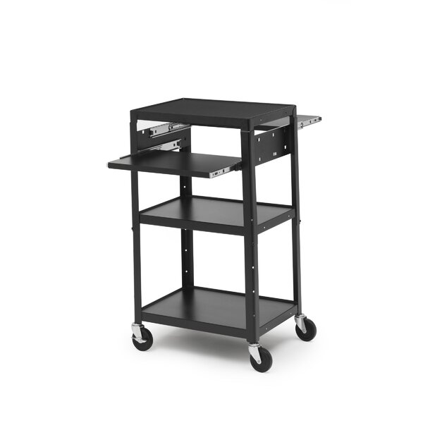 Basic Adjustable AV Cart by Bretford Manufacturing Inc