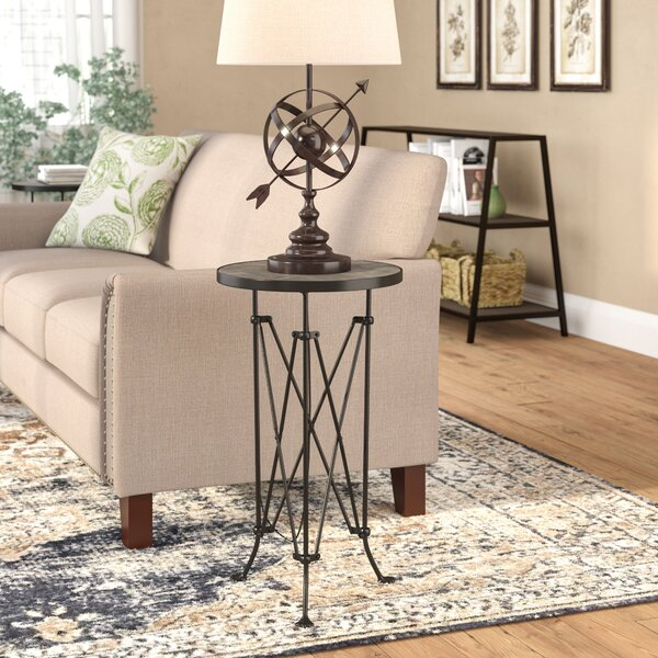 Abequas Metal End Table by Laurel Foundry Modern Farmhouse