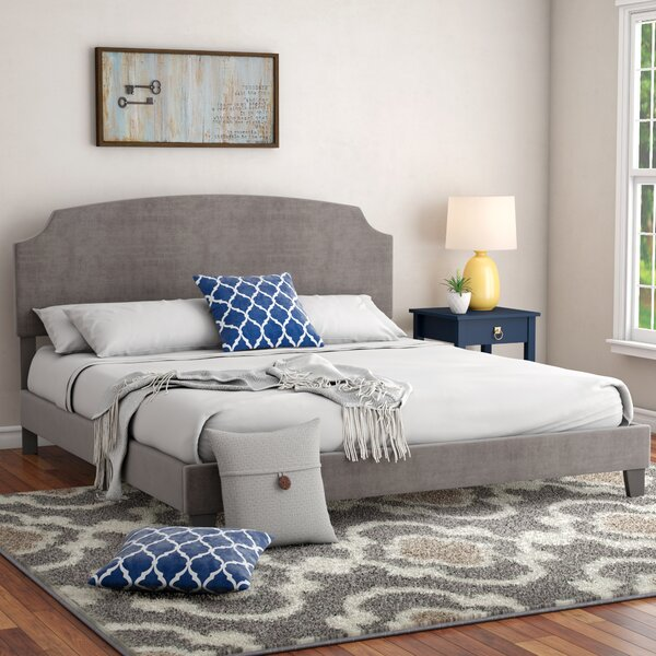 Surrey King Upholstered Standard Bed by Andover Mills