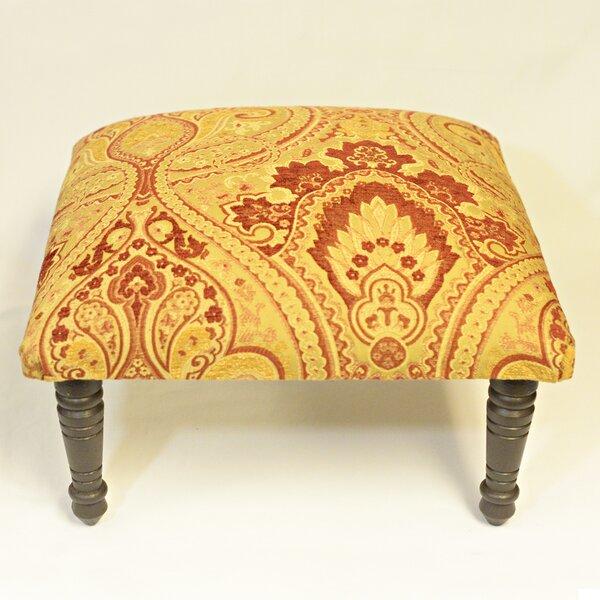 Belissimo Paisley Ottoman by Corona Decor